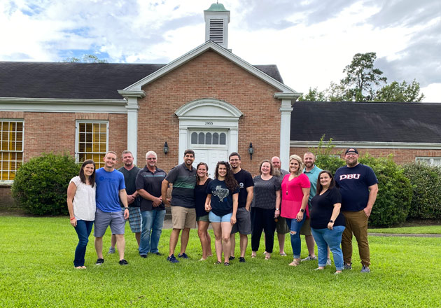 Core Team at Providence Baptist Church in Beaumont, Texas
